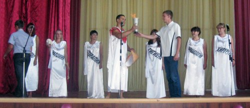 Посвящение в студенты - 2011
