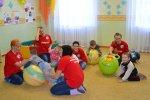 Волонтёры посетили детский сад
