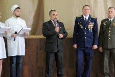 Открытие месячника военно-патриотической и оборонно-массовой работы