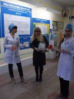 Беседа студентов-волонтеров по профилактике ССЗ