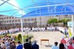 Торжественная линейка посвященная 72-й годовщине Победы