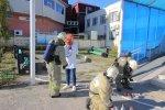 Учения по противопожарной безопасности