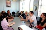 Встреча с главным специалистом отдела военно-патриотического и гражданско-патриотического воспитания молодежи министерства образования, науки и молодежной политики Краснодарского края